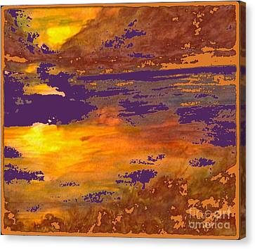 Days End Canvas Print by Cindy McClung