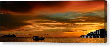Day's End Canvas Print by Julian Cook