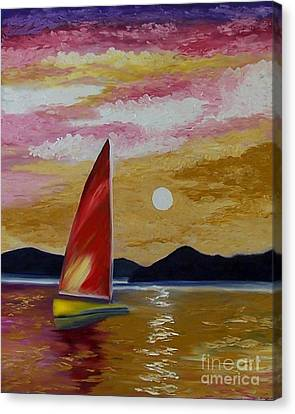 Day's End Canvas Print by Peggy Miller