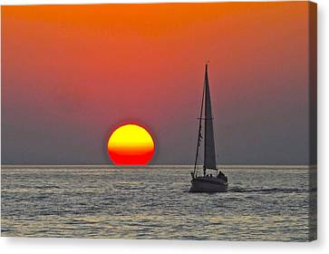 Days End Canvas Print by Frozen in Time Fine Art Photography