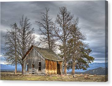 Days Gone By Canvas Print by Loree Johnson