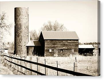 Days Gone By Canvas Print by Marilyn Hunt
