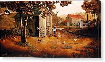 Days Of Discovery Canvas Print by Duane R Probus