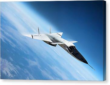 Days Of Future Passed Xb-70 Canvas Print