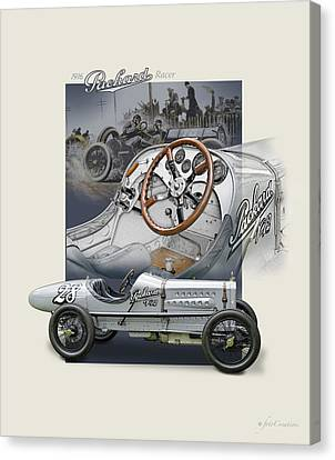 Days Of Glory Canvas Print by Roger Beltz