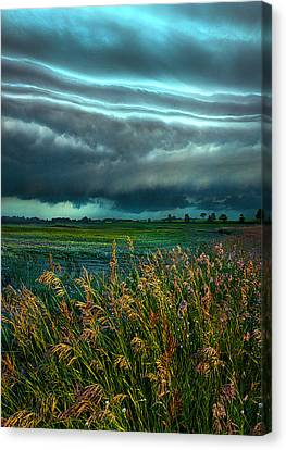Days Of Thunder Canvas Print by Phil Koch