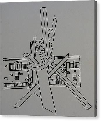 Dayton Art Institute Canvas Print by Erika Chamberlin
