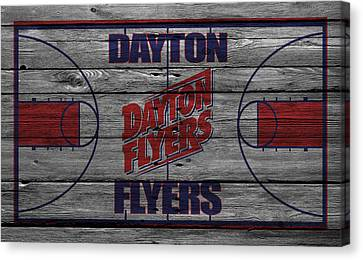Dayton Flyers Canvas Print by Joe Hamilton