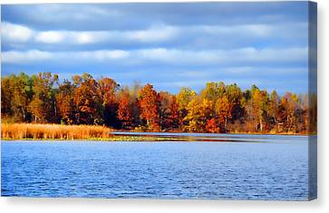 Dayton Lake Canvas Print