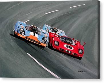Daytona 1970 Canvas Print