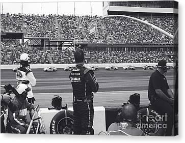 Daytona 500 Pit Crew Canvas Print