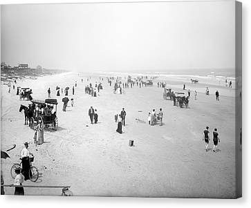 Daytona Beach Florida  1904 Canvas Print