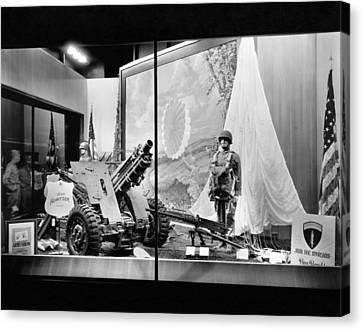 Dayton's War Bond Display Canvas Print by Underwood Archives