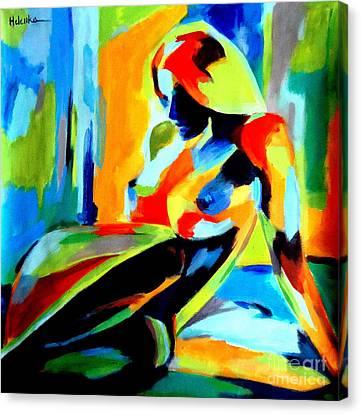 Dazzling Light Canvas Print by Helena Wierzbicki