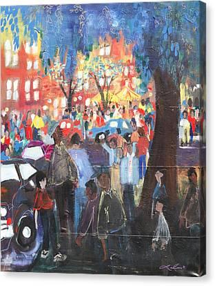 D.c. Market Canvas Print