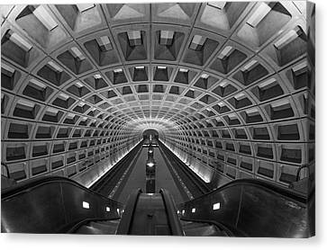 D.c. Subway Canvas Print