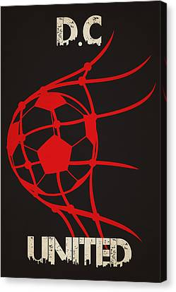 Dc United Goal Canvas Print