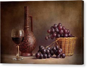 Wine Glass Canvas Print - D?d?d?d?d?d?n?dod?n? D?d?d?d?d?d? by Stanislav Aristov