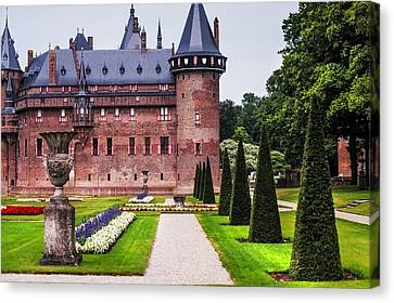 De Haar Castle 2. Utrecht. Netherlands Canvas Print by Jenny Rainbow