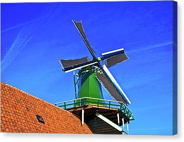 De Huisman Spice Mill Canvas Print by Jonah  Anderson