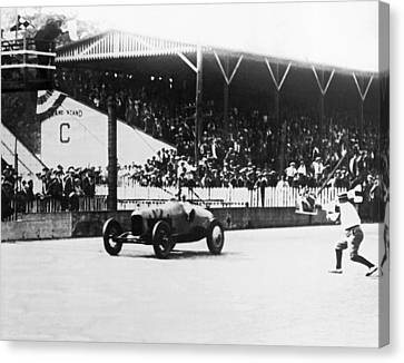 De Paolo Winner At Indy 500 Canvas Print by Underwood Archives