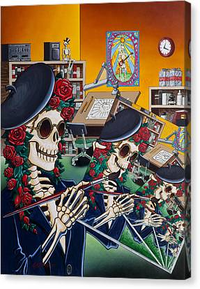 Dead Artist Society Canvas Print by Gary Kroman