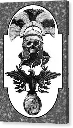 Dead Centurion Canvas Print
