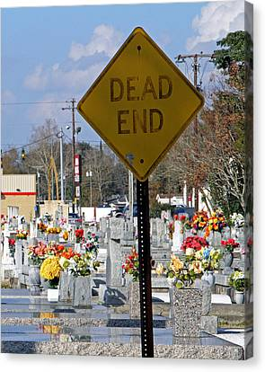 Dead End Canvas Print by Barry Spears