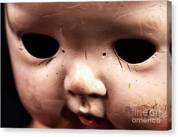 Dead Eyes Canvas Print by John Rizzuto