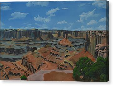 Dead Horse Point Canvas Print by Nick Froyd