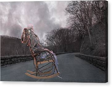 Dead Man's Curve Canvas Print by Betsy Knapp