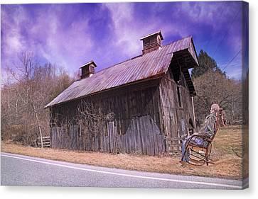 Foggy Day Canvas Print - Dead Men Don't Tell Tales by Betsy Knapp