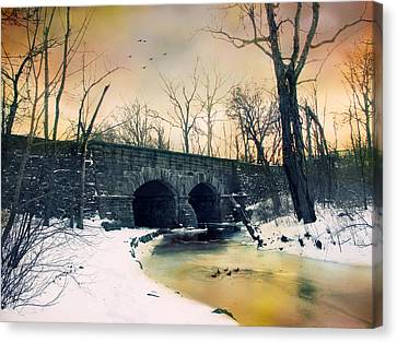 Dead Of Winter Canvas Print by Jessica Jenney