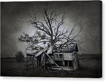 Dead Place Canvas Print by Svetlana Sewell