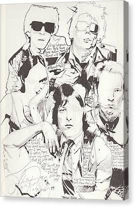 Deadboys Canvas Print by Alex Rodriguez