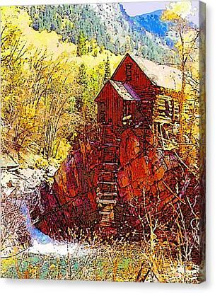 Deadhorse Mill Canvas Print