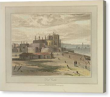 Deal Castle Canvas Print by British Library