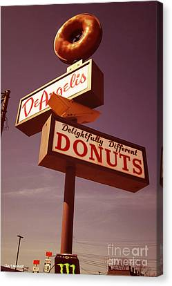 Deangelis Donuts Canvas Print