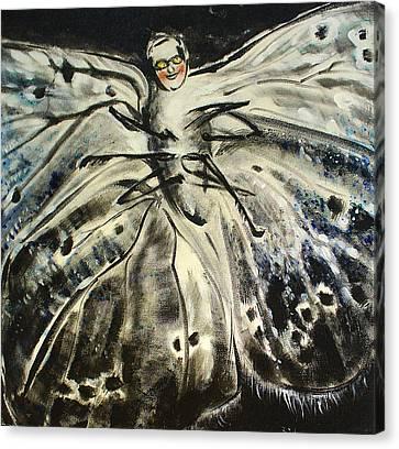 Dear Canvas Print by Tanya Byrd