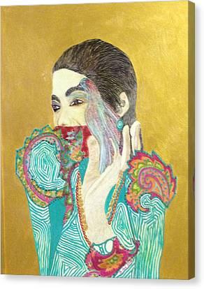 Dearest Farah Pahlavi Canvas Print