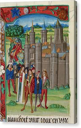 Death Of Philip Canvas Print
