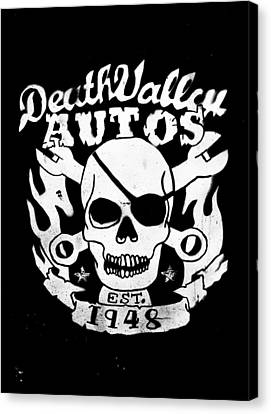 Death Valley Autos Canvas Print by Phil 'motography' Clark