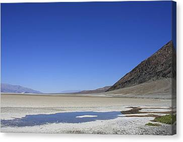 Death Valley Canvas Print by Kimberly Oegerle
