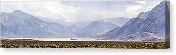 Death Valley Racetrack, Death Valley Canvas Print by Panoramic Images