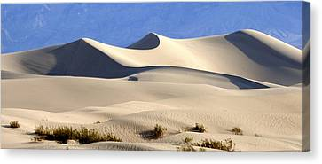 Death Valley Sand Dunes Canvas Print by Amelia Racca