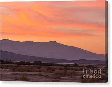 Death Valley Sunset Canvas Print