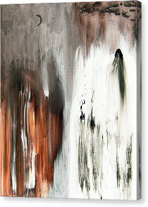Canvas Print featuring the painting Deathless by Christine Ricker Brandt