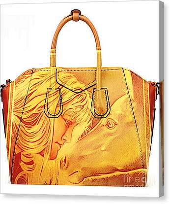 Debbie And Magnus Purse Painting Canvas Print by Marvin Blaine