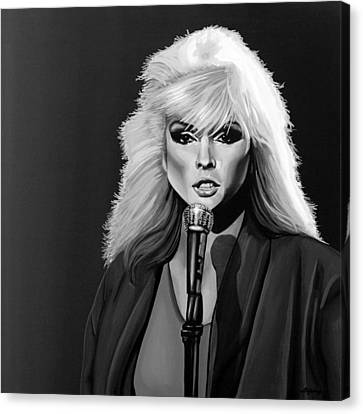 Debbie Harry Canvas Print by Meijering Manupix