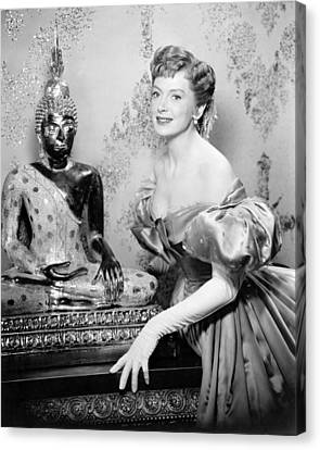 Deborah Kerr In The King And I  Canvas Print